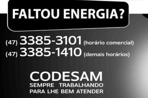 Faltou Energia?